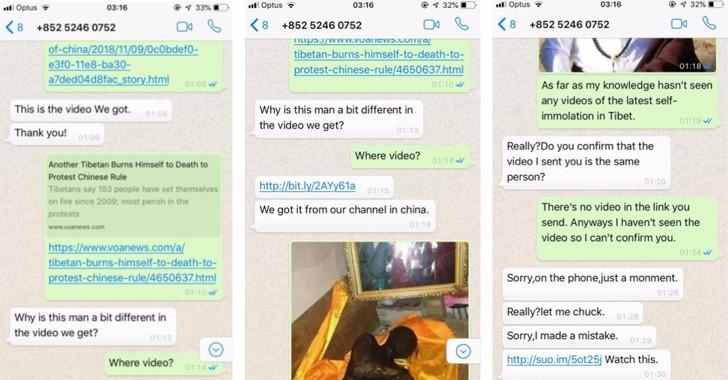1-Click iPhone and Android Exploits Target Tibetan Users via WhatsApp