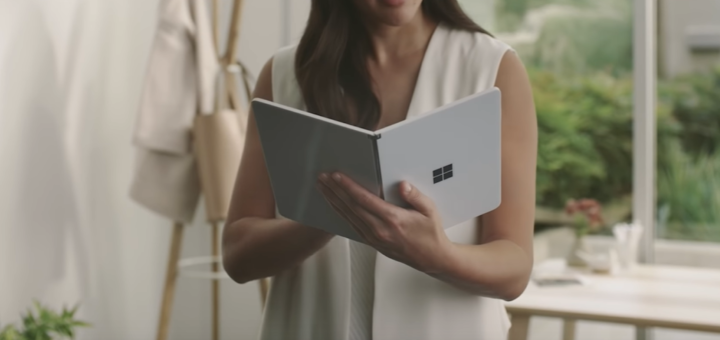 Microsoft Surface Neo: The convertible with two displays - tablet and display in one?